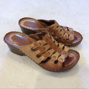 Ariat | Leather Sandal Clogs Sz 8